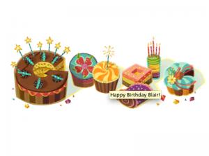 Even Google remembered my birthday!